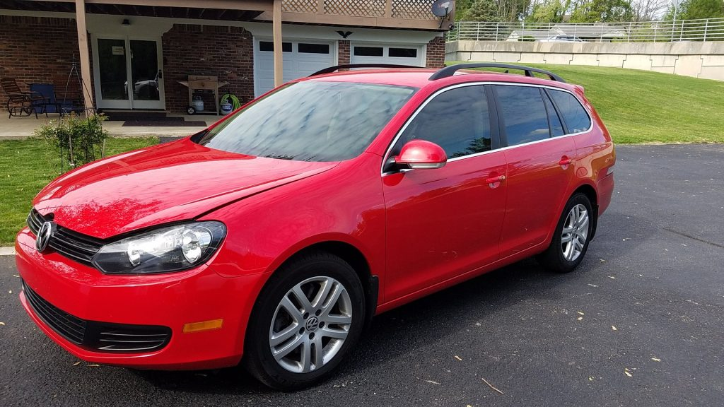 CTX Ceramic Window Film installed on Volkswagen Stationwagon by Bloomington Window Tint