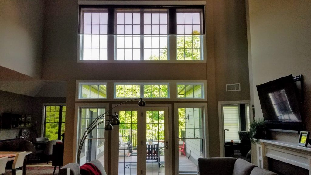 Residential LLumar Window Film Installed by Bloomington Window Tint